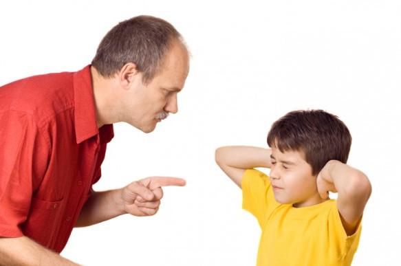 Ругать за непослушание?