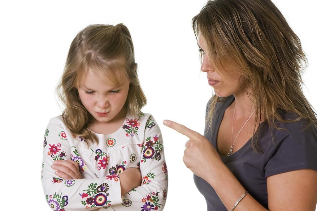Непослушный ребенок в семье